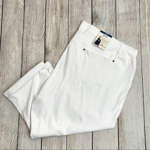 Terra  /& Sky Women's Plus Size 4X Capri Jegging Pants NWT 28//30W Blue FREE SHIP